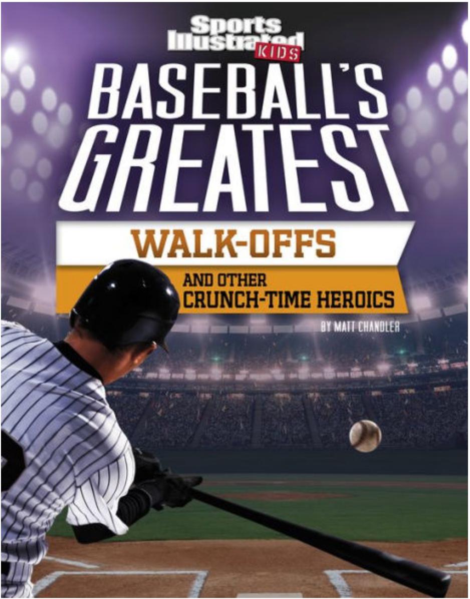 Baseball Walk Offs