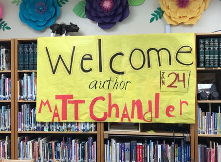 Author visits in the Lone Star State