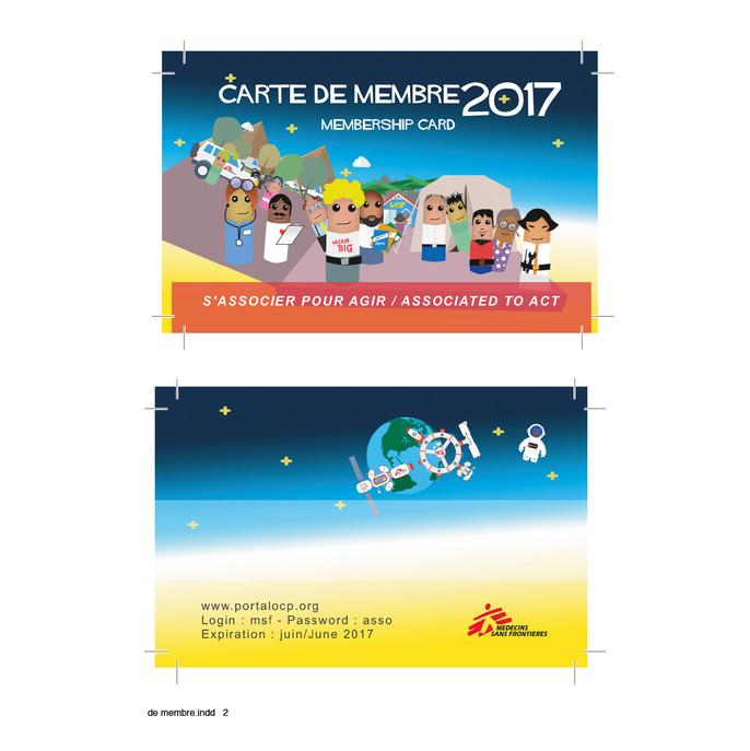 Arnaud Pitois MSF Association carte de m