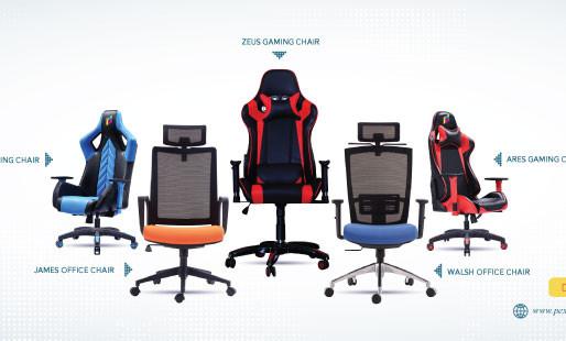 PEX CHAIR: Kursi Gaming Khusus Untuk Streamer dan Designer