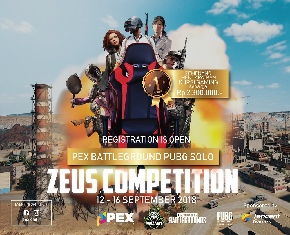 PEX BATTLEGROUND PUBG | COMPETITION BOGOR