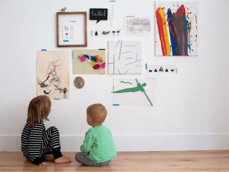 Creative Ideas for Storing Children's Artwork