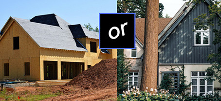 Is it better to buy a new build or resale home?