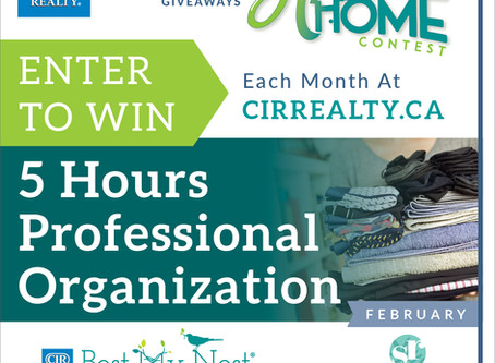 Twelve Months of Homeowner Giveaways ENTER THIS MONTHS CONTEST!
