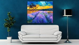 Finishing Touches – Selecting Art for Your Home