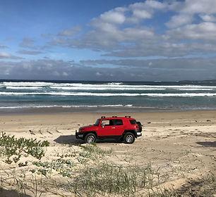 4wd Parrys beach 2.JPG