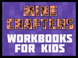 Minecrafter Workbooks for Kids