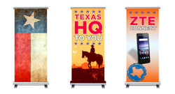 HQ To You, standing banners