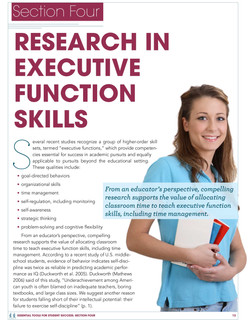 Executive Functions White Paper Chapter Opener
