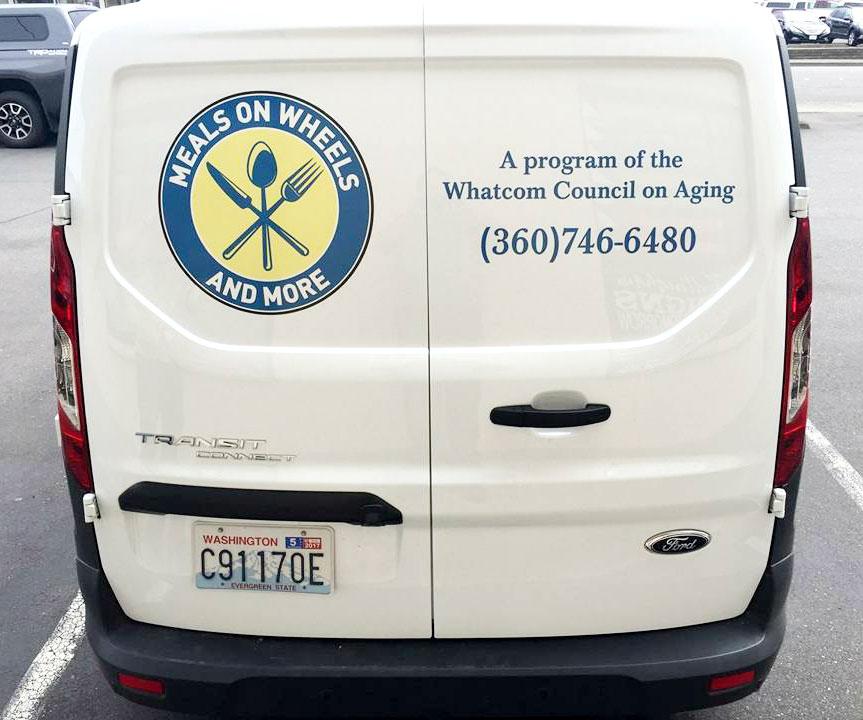 Meals on Wheels on Van