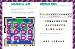 Minecrafter Puzzles & Activities Spread
