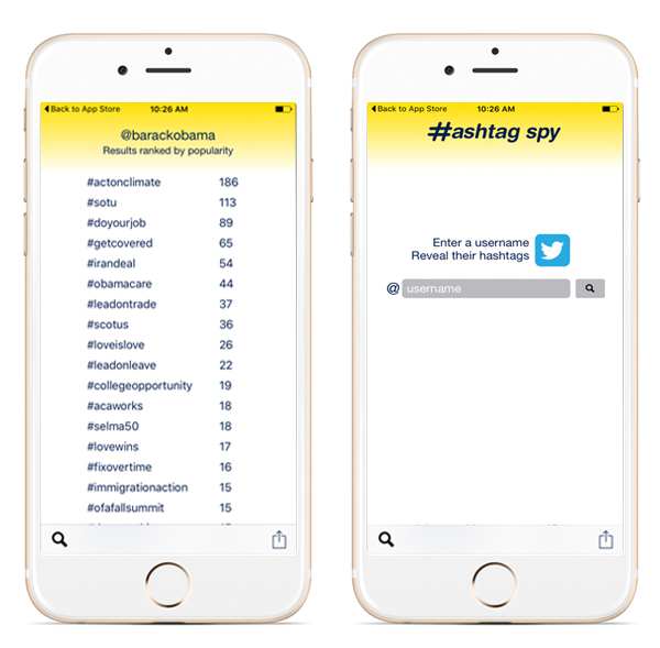 HashtagSpy-iPhones