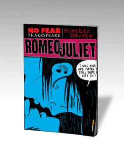 Romeo & Juliet Graphic Novel Cover