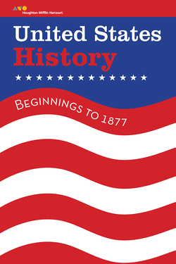 US History, Flag Graphic Cover