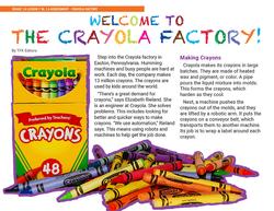 Crayola Factory Page 1
