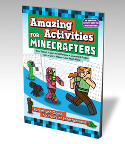 Amazing Activities for Minecrafters Cover