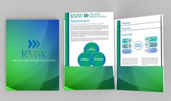 RMW Marketing Folder Design