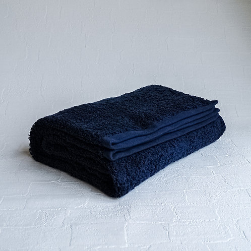 <KICCA>BATH TOWEL(NAVY)