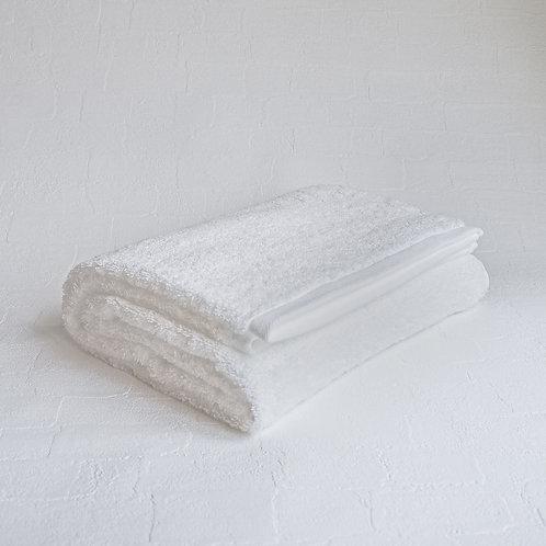 <KICCA>BATH TOWEL(WHITE)