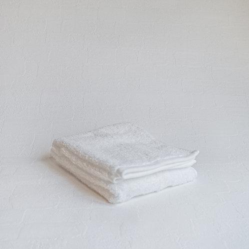 <KICCA>FACE TOWEL(WHITE)