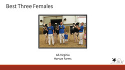All-Virginia Best Three Females