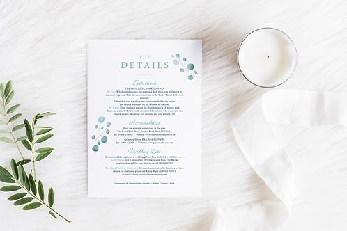 Eucalyptus Details Card