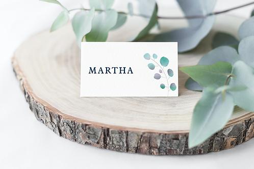 Eucalyptus Name Cards