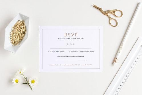 Elegance RSVP Card
