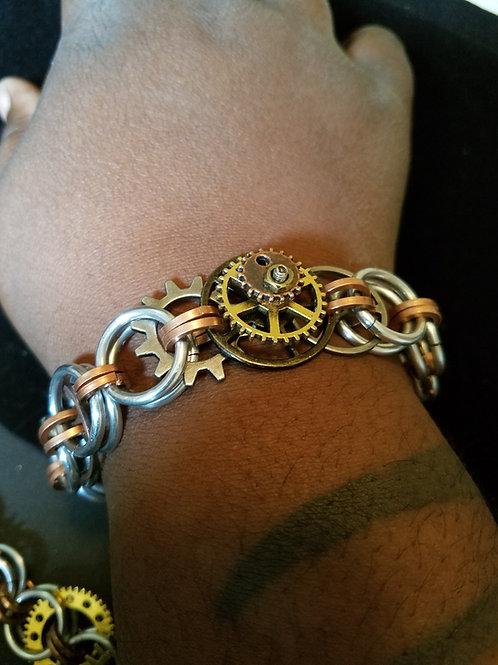 Afro-SteamPunk Bracelet