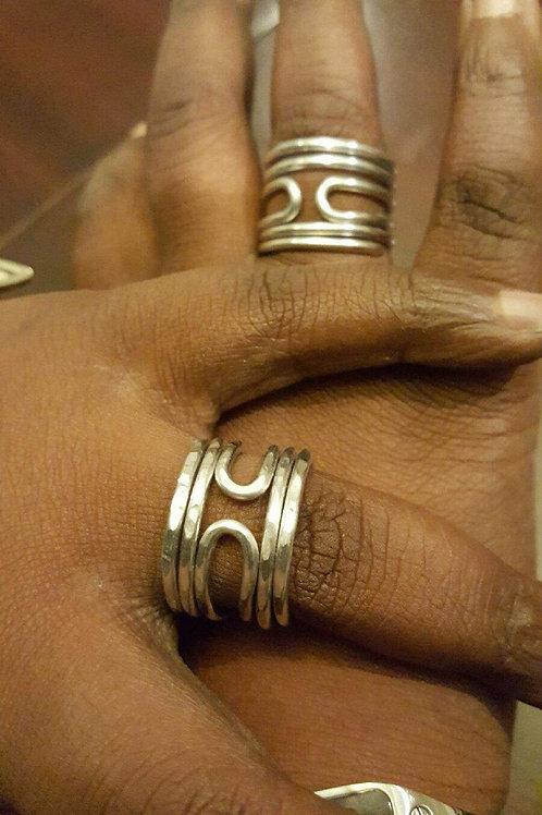 Double orbit Royalty Ring