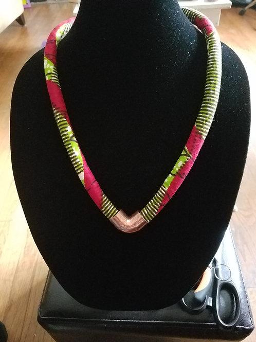 Ankara Rope Necklace (Single)