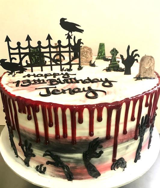 Halloween Zombie Birthday