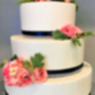 Navy and Blush Wedding Cake.jpg