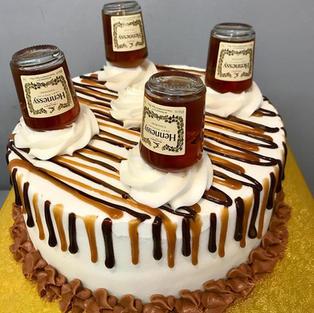 9 inch Hennessy Mini Bottle Cake
