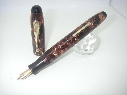 Parker Parkette Fountain Pen RESTAURATA Vintage USA 1937 Lever Nib Parkette