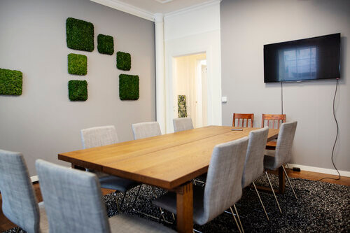 SliceVault meeting room