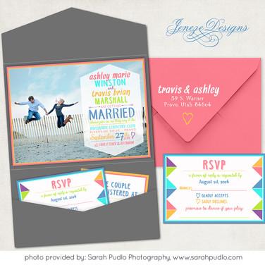 Pocket Invitation - Item# PI022