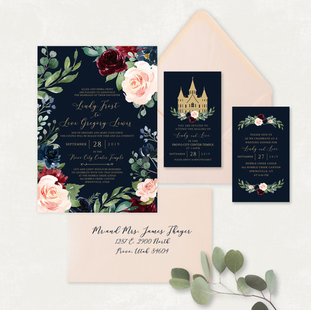 Wedding Invitation #WI573
