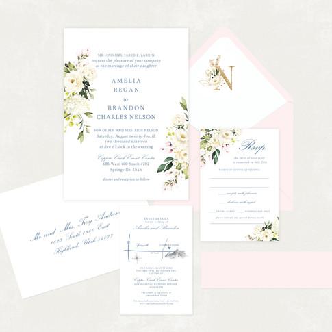 Wedding Invitation #WI570