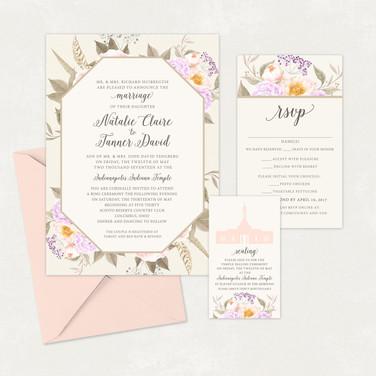 Wedding Invitation #WI345