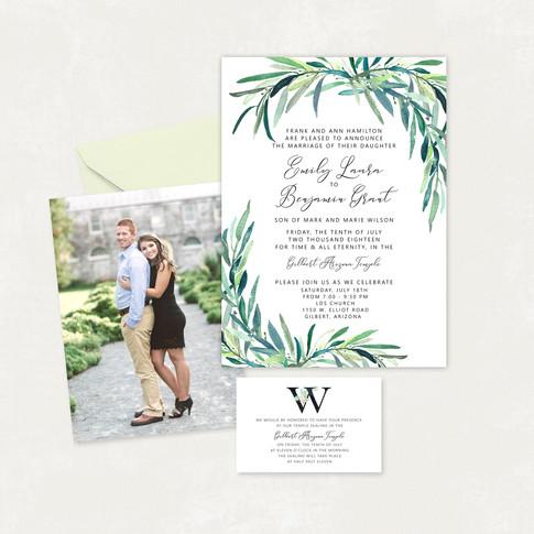 Wedding Invitation #WI348