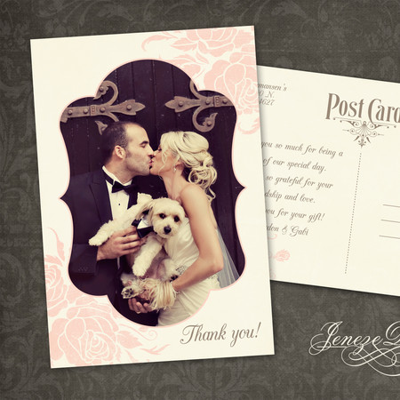 Thank you card - Item# TY026