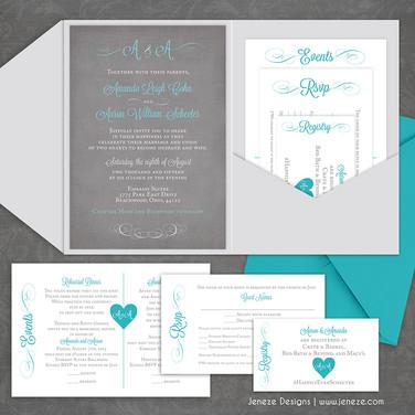Pocket Invitation - Item# PI038
