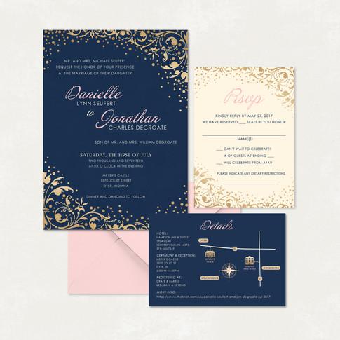 Wedding Invitation #WI321