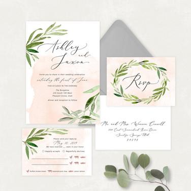 Wedding Invitation #WI567
