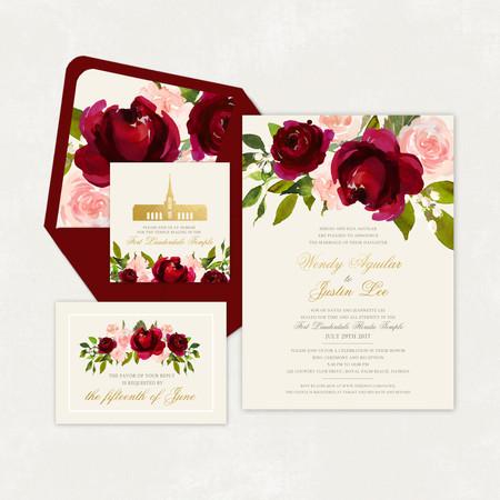Wedding Invitation #WI330