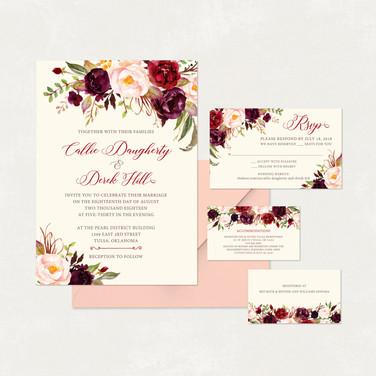 Wedding Invitation #WI341