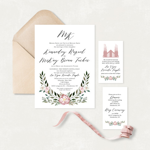 Wedding Invitation #WI556
