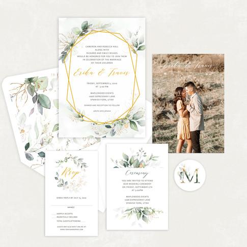 Wedding Invitation #WI574