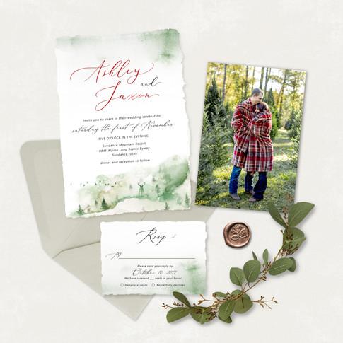 Wedding Invitation #WI563